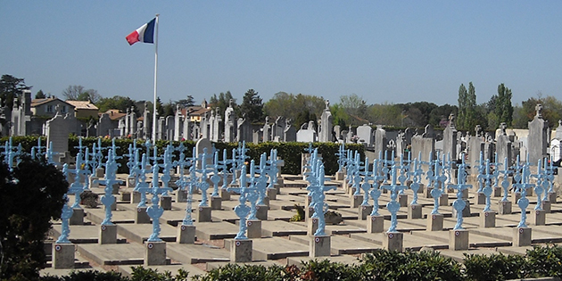 Marius Caubet, Mort pour la France le 20 avril 1918