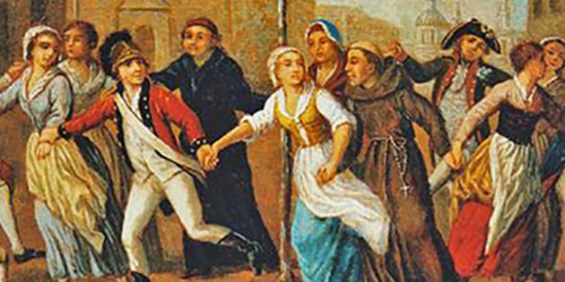 La Fête des Epoux, durant la Révolution Française
