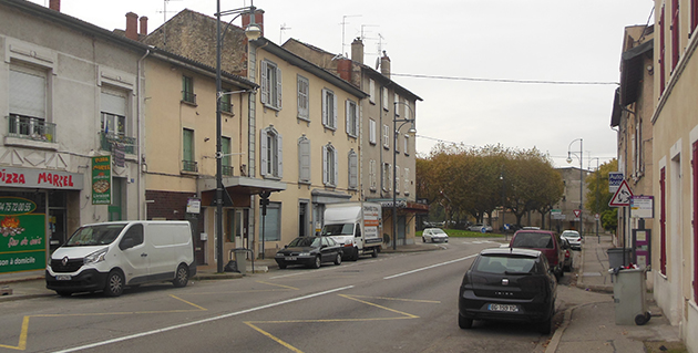 L'avenue Charles Jourdan