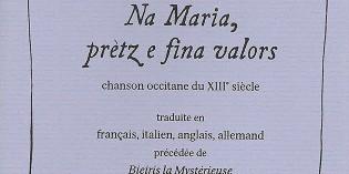 Bieiris de Romans – Na Maria, prètz e fina valors