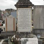 La tombe du docteur Marius Bonnet