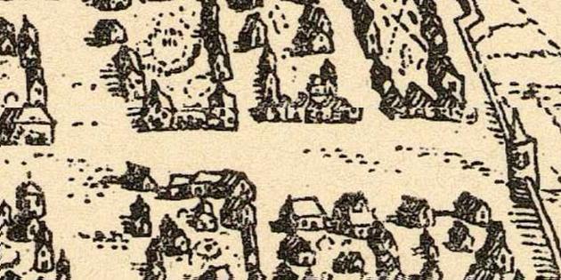 21 octobre 1481 - Nicolas Gaymard, religieux cordelier, vend la maison du Bordel