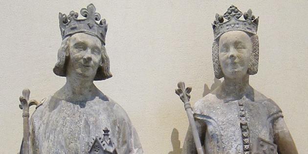 6 avril 1350 - Le futur roi de France Charles V traverse la ville