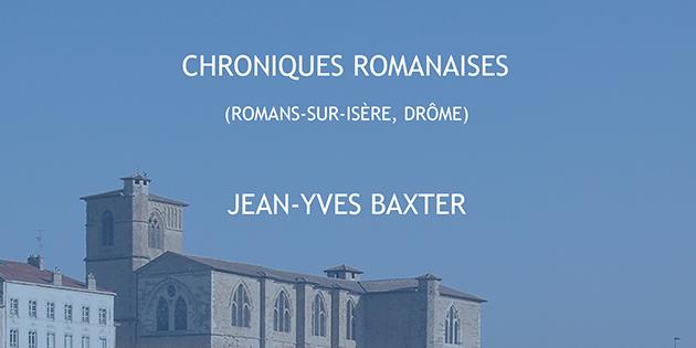 Chroniques romanaises - Jean-Yves Baxter