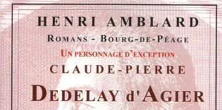 Claude-Pierre Dedelay d'Agier – Henri Amblard