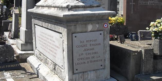 Jérôme Etienne Cogne, lieutenant-colonel d'infanterie, Officier de la Légion d'Honneur