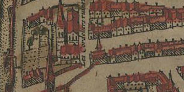 12 juin 1252 - La fondation du couvent des Cordeliers