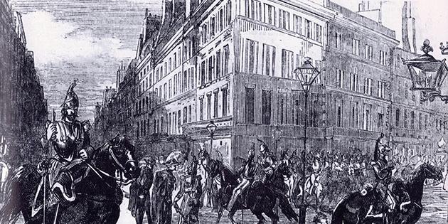 3 décembre 1851 - La population invitée au calme après le coup d'Etat de Louis-Napoléon Bonaparte