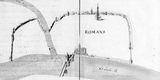 Découverte exceptionnelle d'un plan de la ville de Romans du XVIIe siècle !