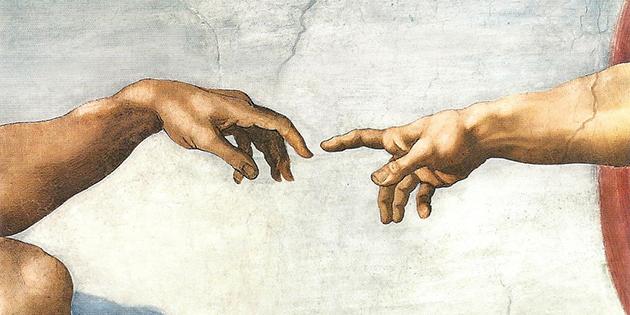 """La main de Dieu s'abat sur Jean Louis Ducros, """"l'homme qui tourne"""", le jour de la Toussaint, en 1801"""