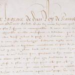 25 octobre 1599 – L'Edit de Nantes est publié à Romans