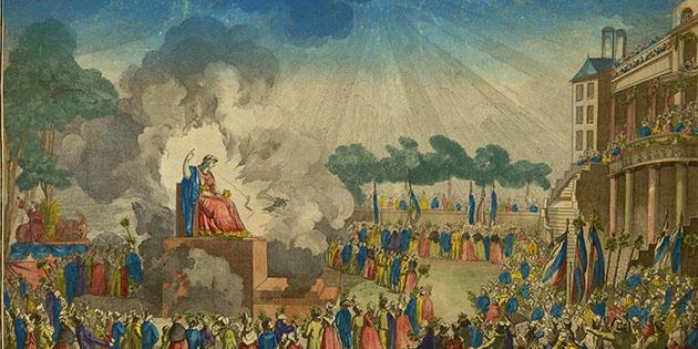 8 juin 1794 - Une fête religieuse en l'honneur de l'Etre Suprême