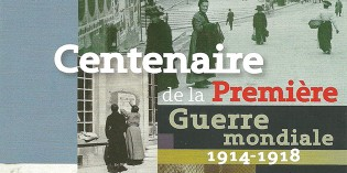 """Exposition """"Vivre à Romans durant la Première Guerre Mondiale"""", de juillet 2014 à janvier 2015"""