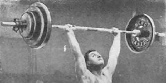 Le romanais Roger François, champion olympique d'haltérophilie en 1928, à Amsterdam