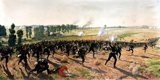 Des romanais blessés durant la Guerre franco-allemande de 1870