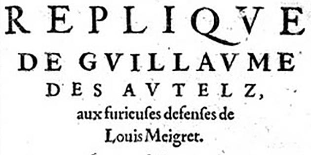 Guillaume des Autels - A la ville de Romans (poésie)