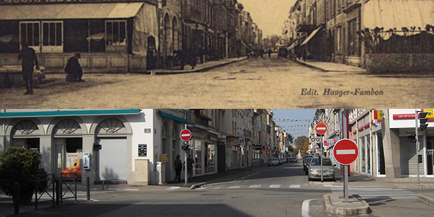 Hier et aujourd'hui : la rue Jacquemart