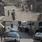 Hier et aujourd'hui : le pont Vieux vu de la place Maurice Faure