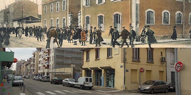 Hier et aujourd'hui : l'usine Grenier, boulevard de l'Ouest