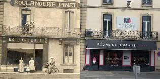 Hier et aujourd'hui : la boulangerie Pinet