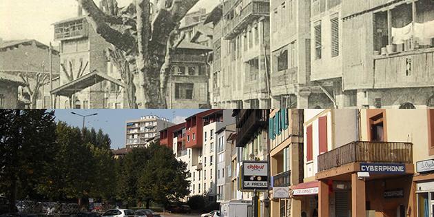 Hier et aujourd'hui : la place de la Presle