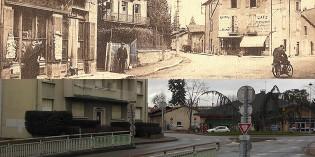 Hier et aujourd'hui : l'avenue Thiers (aujourd'hui, avenue Jean Moulin)
