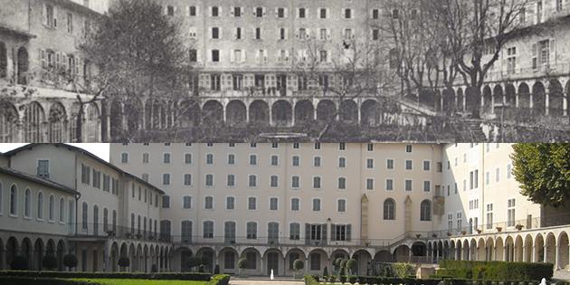 Hier et aujourd'hui : le couvent de la Visitation (Musée de la chaussure)