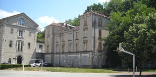 Démolition de la maison du Directeur de l'ancien hôpital Hôtel-Dieu