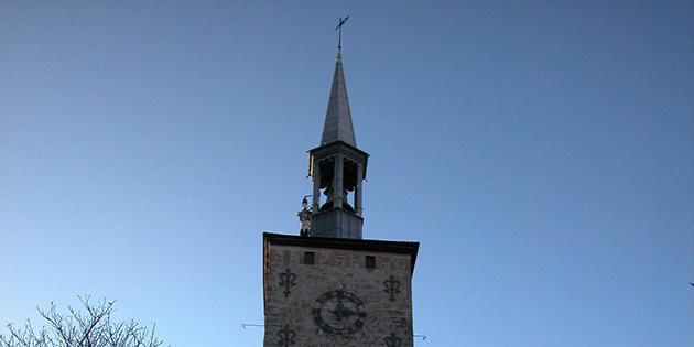 Travaux sur la tour Jacquemart et au Calvaire des Récollets