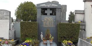 La tombe de Charles Jourdan