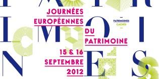 Journées européennes du patrimoine, les 15 et 16 septembre 2012
