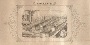 Une lithographie du couvent de la Visitation au XIXe siècle