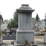 La tombe de Philippe-Antoine Mathieu dit Mathieu de la Drôme