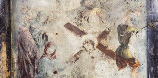 Objets d'archives – Le panneau peint de sainte Véronique