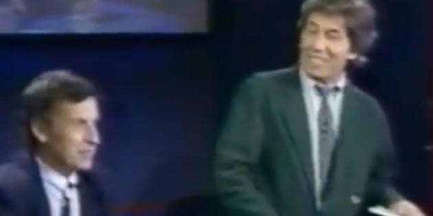 """Juin 1987, l'entreprise Charles Jourdan à l'honneur dans l'émission TV """"Performances"""""""