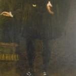 Portrait de Perrot  de Verdun dans la salle d'accueil des Archives municipales de Romans-sur-Isère