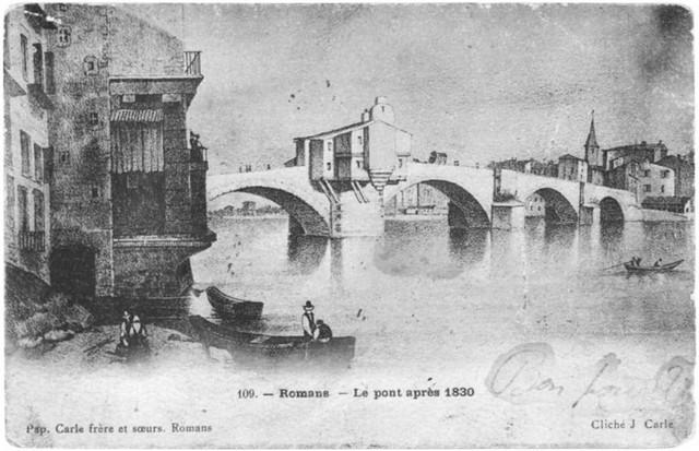 Romans sur is re querelle entre les villes de romans et bourg de p age au sujet du pont en 1807 - Office du tourisme romans sur isere ...