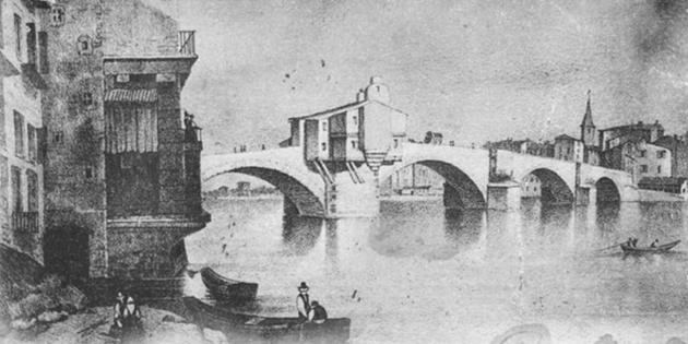 Querelle entre les villes de Romans et Bourg-de-Péage au sujet du pont, en 1807