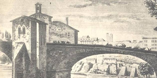 1er décembre 1651 - Le pont Vieux est emporté par une grande crue de l'Isère