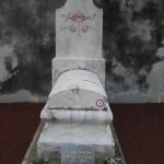Tombe de Etienne François Raymond Pouchelon au cimetière de Romans-sur-Isère