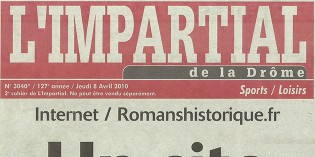 "L'Impartial, 8 avril 2010 : ""Le site Internet de référence"""