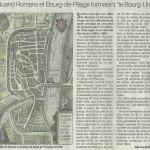 Le Dauphiné Libéré, 9 mars 2015 : «Quand Romans et Bourg-de-Péage formaient le Bourg-Uni»