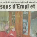 Le Dauphiné Libéré, 15 mars 2015 : «Les dessous d'Empi et Riaume»