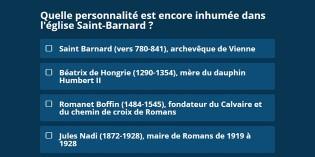 Connaissez-vous l'histoire de Romans ?