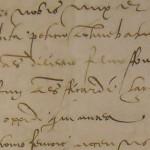 Acte fondateur du Calvaire des Récollets en 1516