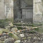 Calvaire des Récollets : effondrements suite aux intempéries