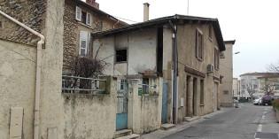A l'angle de la rue du Refuge et de la Petite rue Neuve, en 1853