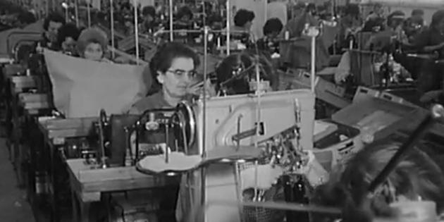 Vidéo : Rhône-Alpes Actualités - 28/10/1964 - L'industrie de la chaussure à Romans