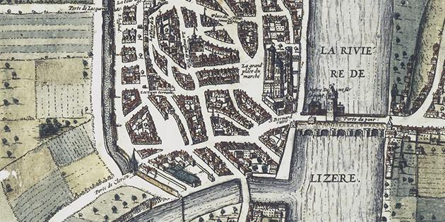 Quand Romans et Bourg-de-Péage formaient le Bourg-Uni