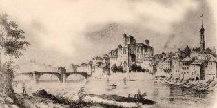 La ville de Romans vue par les voyageurs du XIXè siècle
